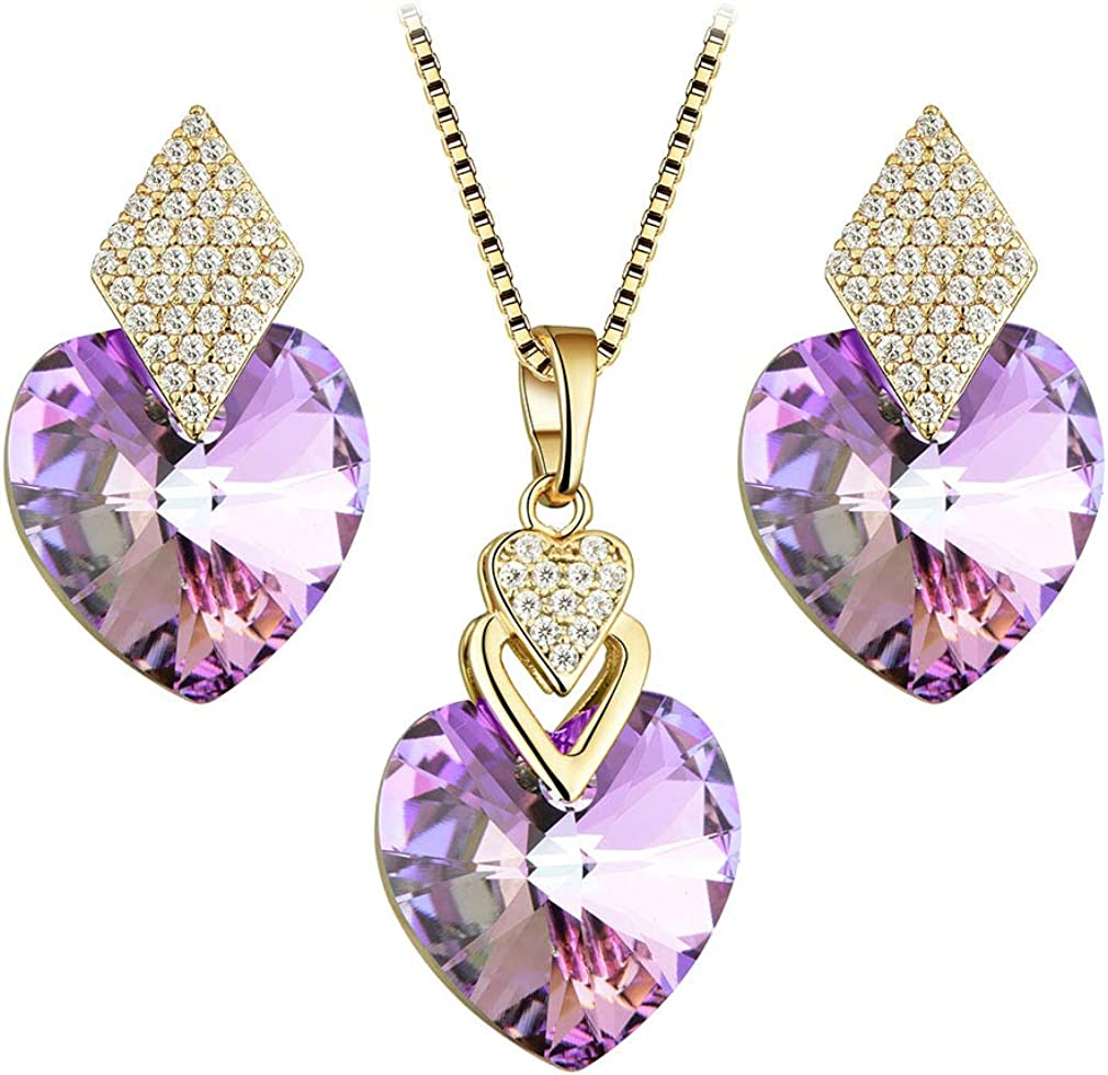 EVEVIC Swarovski Crystal...