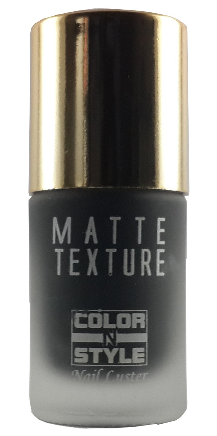 Buy COLOR N STYLE MATTE TEXTURE Nail Luster 15 (9.9 ML) Online at ...