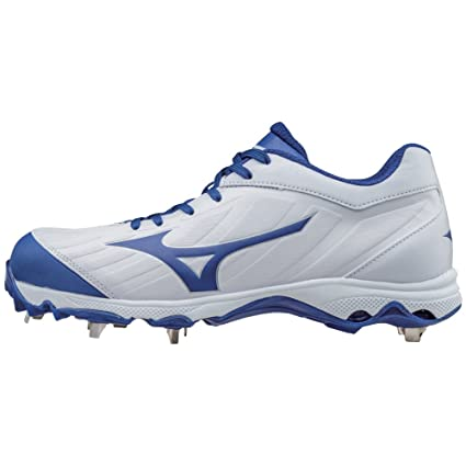 Monday Specials Mizuno 9Spike Advanced Sweep 3 Womens Softball Shoes WhiteRoyal