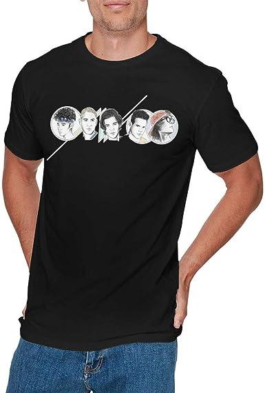 Camisa Deportiva de Manga Corta para Hombre, Mens Cool Cnco Logo tee Black: Amazon.es: Ropa y accesorios