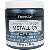 DecoArt Ameri Deco MTLC Americana Metallics 8oz Pewter, 1