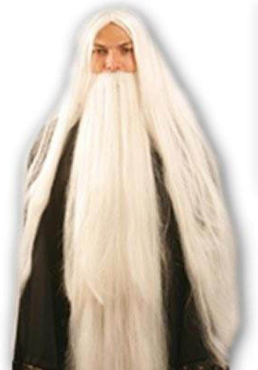 Qubeat Parrucche Donne lungo bianco