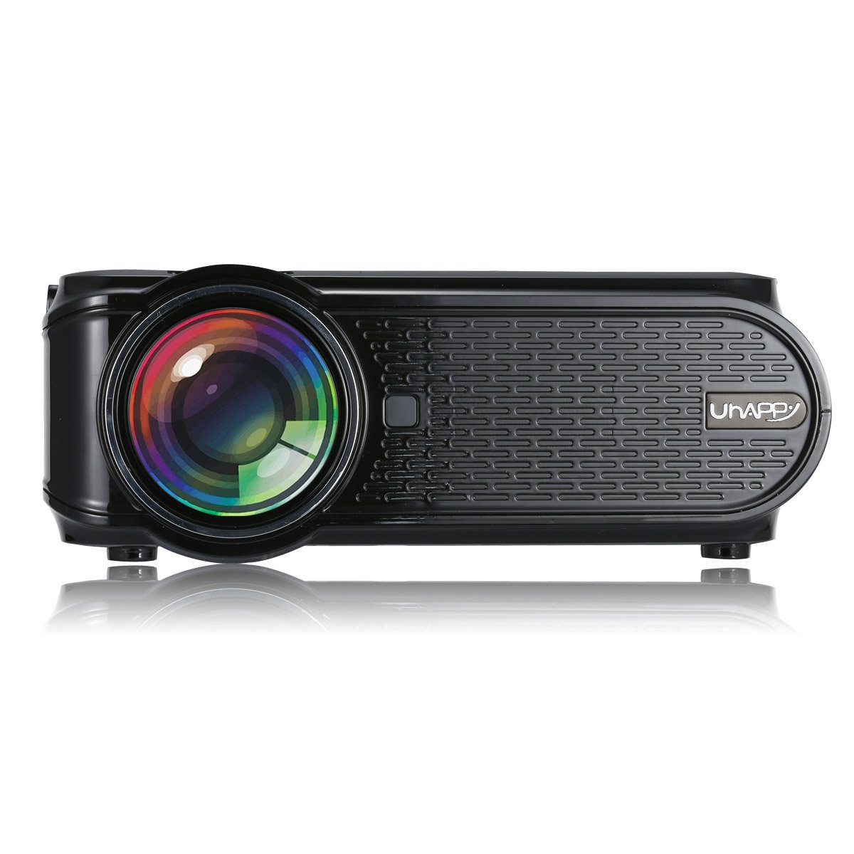Mini Projector,CamKing U90 1500 Lumens 1080P Video Projector for Home Cinema by CamKing