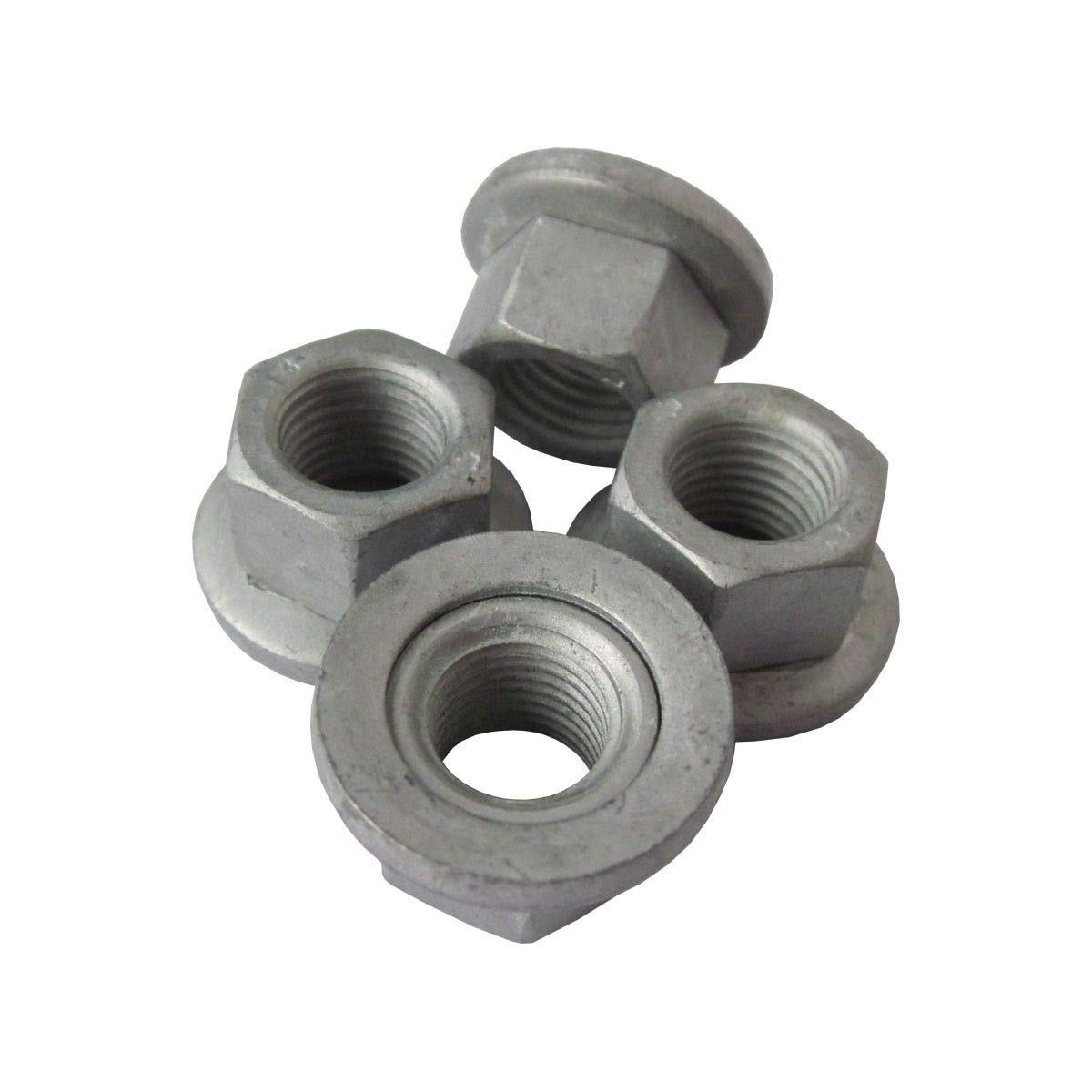 Set of 4 Polaris Sportsman Ranger 3//8 Flange Wheel Lug Nut 7547237