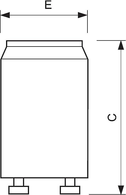 Image ofPhilips S10 4-65W Lighting starter - Accesorio de iluminación (fabricado en plástico, 2G7, 4 W), blanco