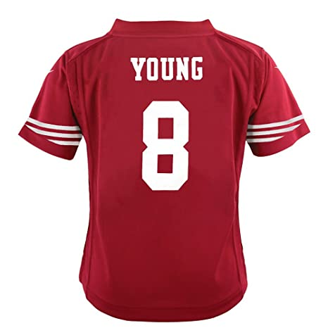 4cf75ab3 Nike Steve Young San Francisco 49ers Home Red Jersey Boys (SL)