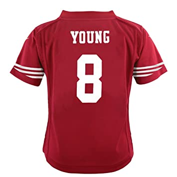 huge selection of 73e9e 40f54 Nike Steve Young San Francisco 49ers Home Red Jersey Boys (SL)