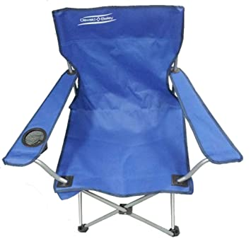 Compact Folding Chair For Camping Or Garden (Blue)