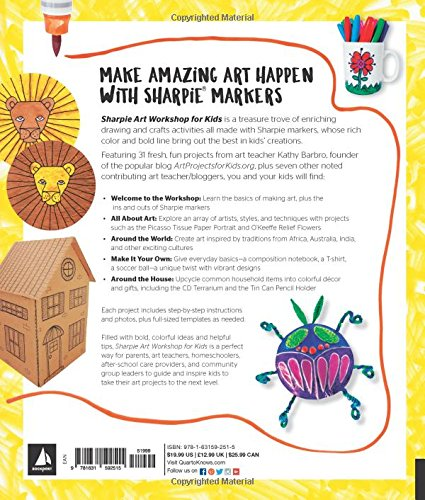 amazon sharpie art workshop for kids fun easy and creative