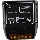 84a389e067bcd9 SODIAL (R)CMP REGULATEUR CONTROLLEUR DE PANNEAU SOLAIRE 12V 24V ...