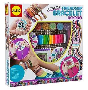 Alex toys craft ultimate friendship bracelet party amazon for Alex co amazon