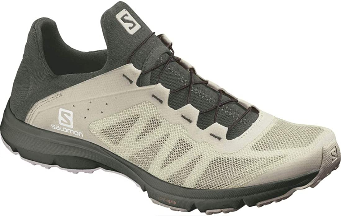 Salomon - Zapatillas de Running para Mujer Mineral Gray/Crown Blue/White, Color, Talla 40 2/3 EU: Amazon.es: Zapatos y complementos