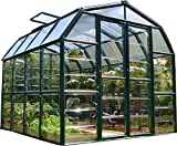 Rion Grand Gardener 2 Clear Greenhouse, 8' x 8'