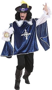 Disfraz de mosquetero azul Musketierkostüm mosqueteros camisa y ...