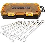 DEWALT DWMT73809  Tool Kit SAE Combination Wrench Set, 8 Piece