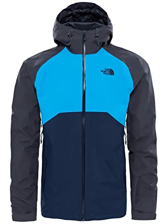 The North Face North Face M Stratos Jacket Herrenjacke, S, Blau