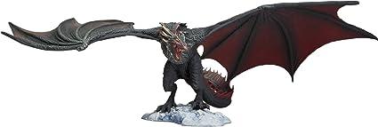 Black Set Collectible Incredib McFarlane Toys Game of Thrones Drogon Deluxe Box