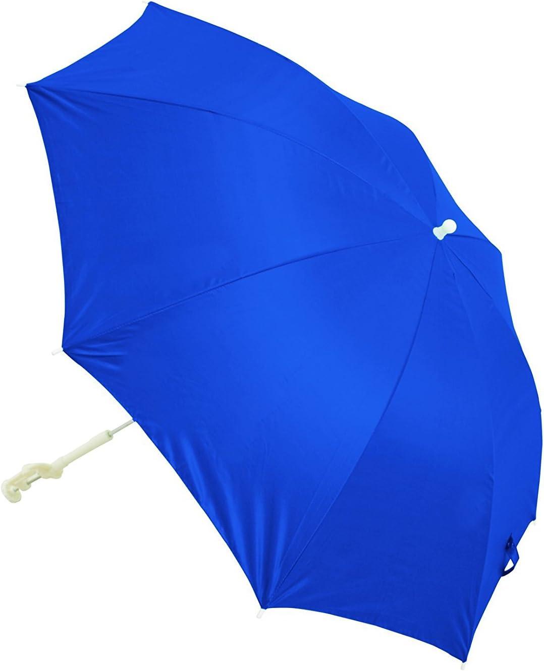 Clamp-On Patio Beach Chair Sun Block Shade Umbrella Canopy Outdoor 50+SPF