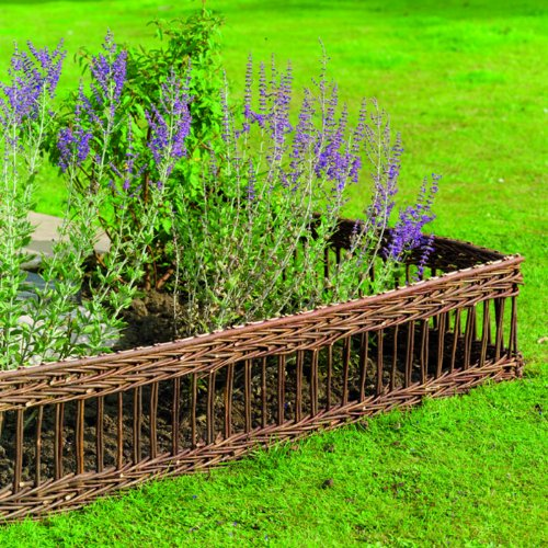 Gardman Classic 09260 – Small Decorative Fence, Natural Gardman Garden Care 573519