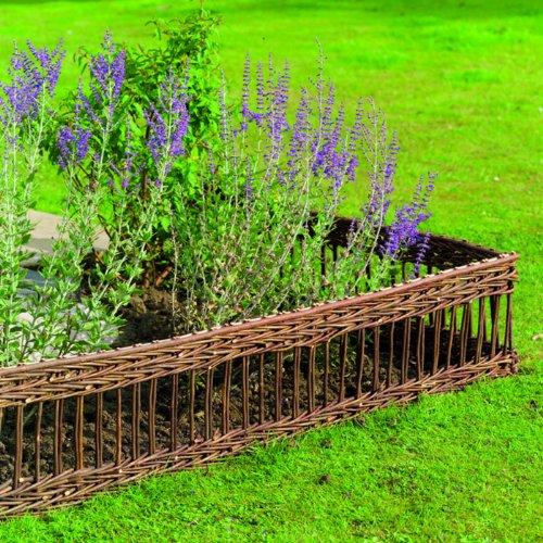 Gardman Classic 09260–Small Decorative Fence, Natural Gardman Garden Care 573519