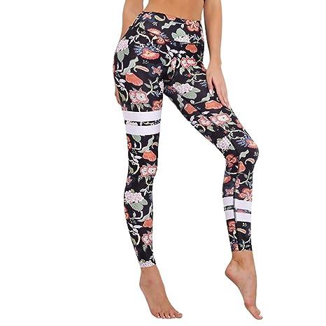 AREDOVL Pantalones de Yoga Traje Gris Deportes Fitness ...