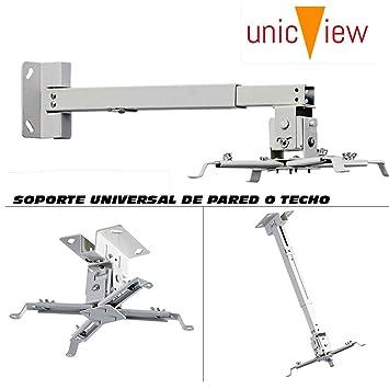 Soporte universal de techo o pared para proyector, montaje a techo ...