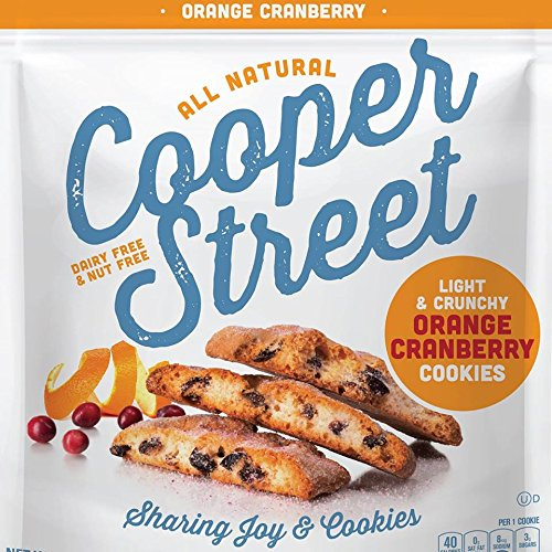 Cooper Street Light & Crunchy Orange Cranberry Cookies 18...