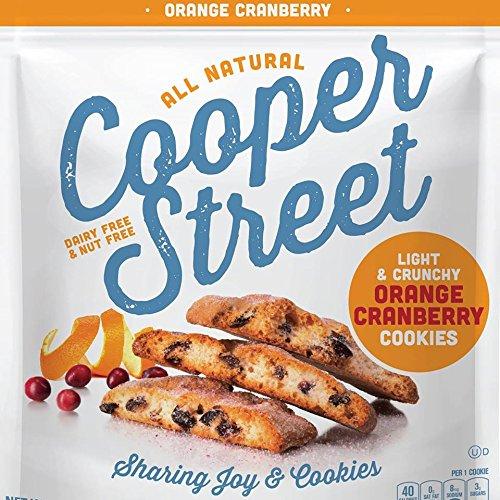 Cooper Street Light & Crunchy Orange Cranberry Cookies 18 oz. (Pack of 2)