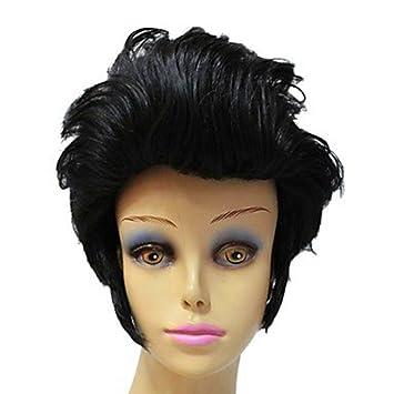 Amazon Com Elvis Aron Presley Celebrity Hairstyle Synthetic Short