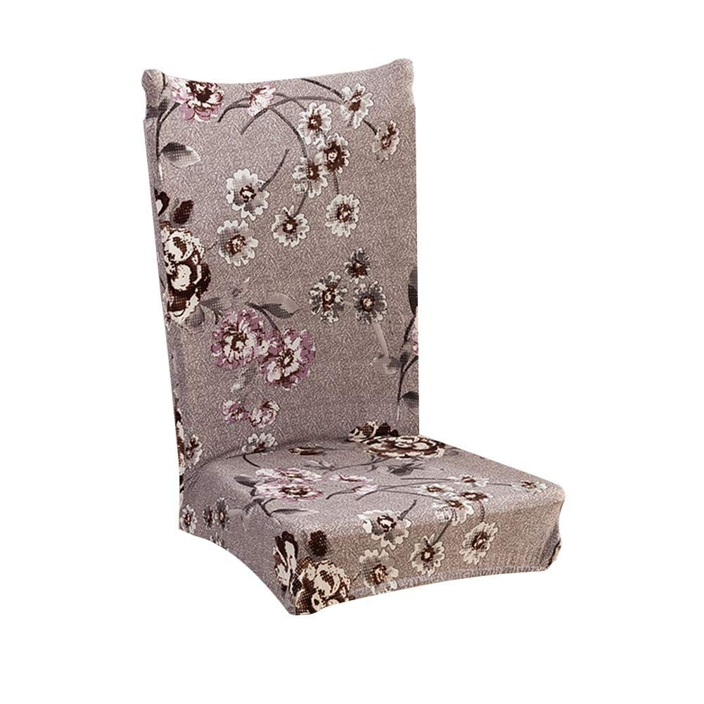Biback Elastic Chair Cover for Restaurant/Dining Table/Chair Cover Cloth Fabric Universal