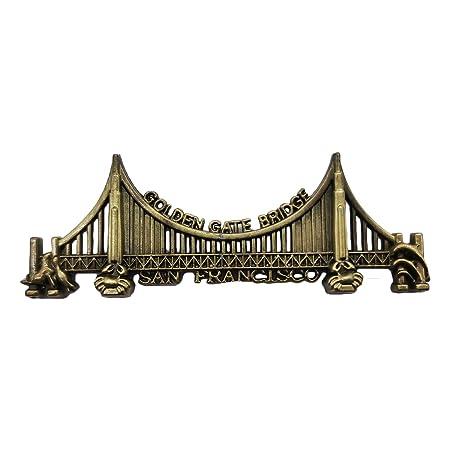 Imán para nevera, diseño de puente de Golden Gate en 3D, colección ...
