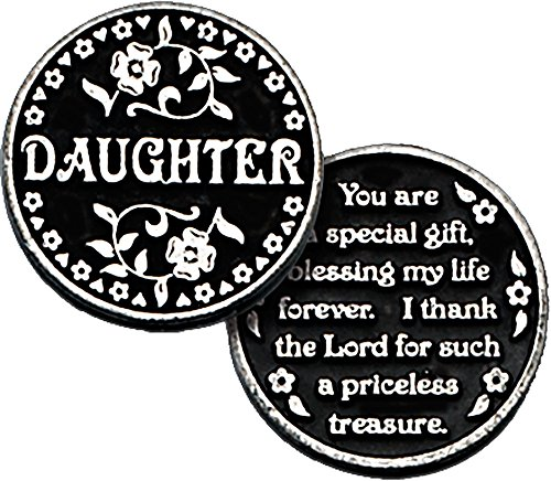 Daughter Pocket Token with PJ Lamb Greeting Card