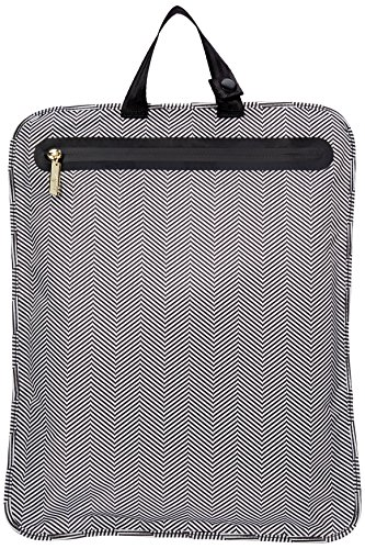 JuJuBe Be Dry Premium Water Resistant Wet Bag, Legacy Collection - The Queen of Nile - Black/White Chevron