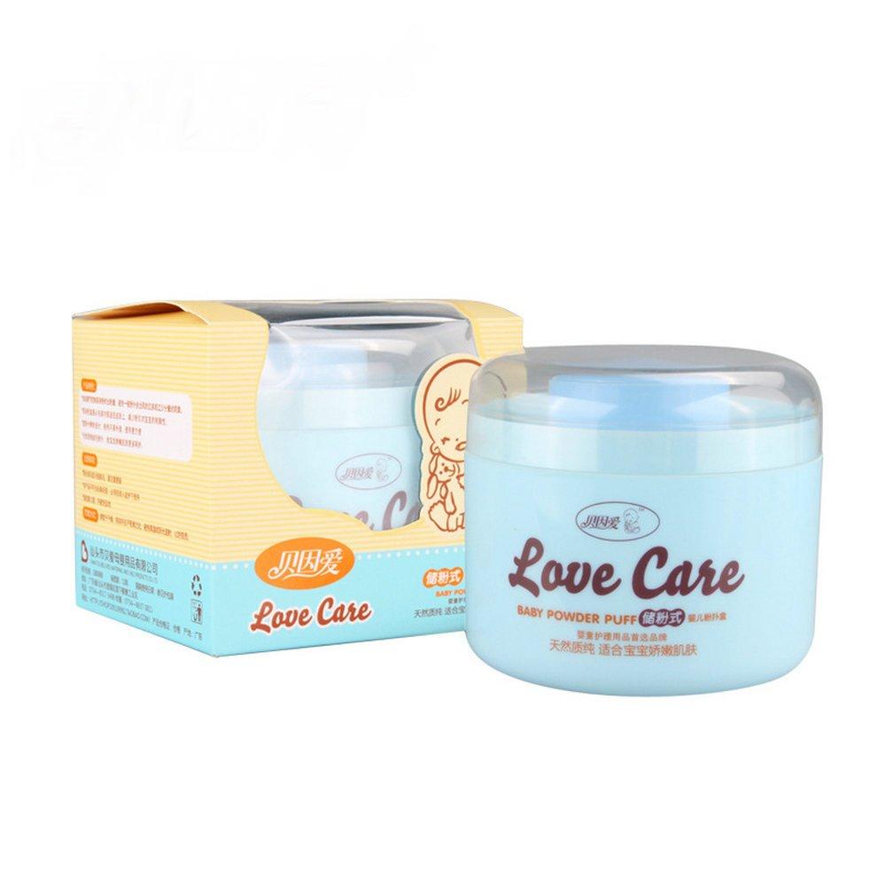 Baby Beauty Cosmetic Villus Powder Puff Makeup Tool Blue