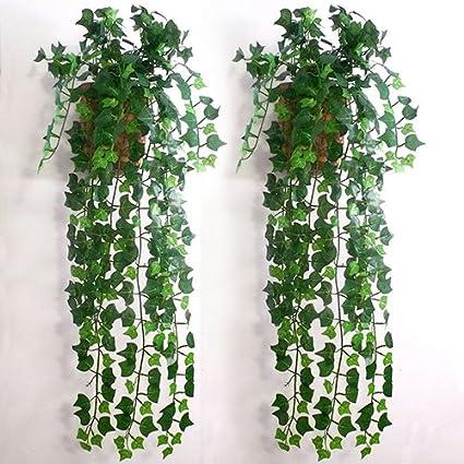 Artificial Green Ivy Garland Decorative Plant Foliage 150cm