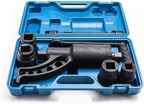 4pcs Socket Torque Multiplier Set Wrench Lug Nut Labor Saving Lugnuts Remover US