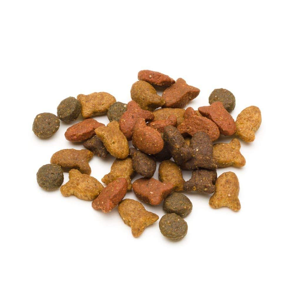 Solimo Alimento secco completo per gatti adulti con salmone 3 confezioni da 3 kg Marchio tonno e verdure