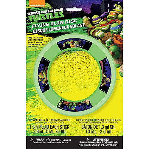 Teenage Mutant Ninja Turtles Glow Flying Disc ()