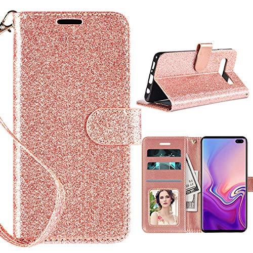 Samsung Galaxy S10 Plus Case Wallet, Casekey...