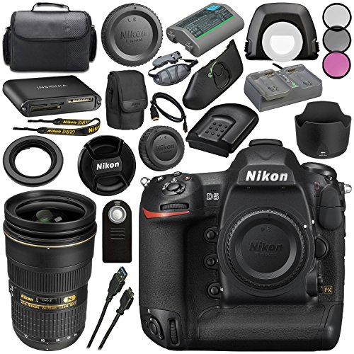 Nikon D5 DSLR Camera  #1558 AF-S NIKKOR 24-70mm ED Lens + 77