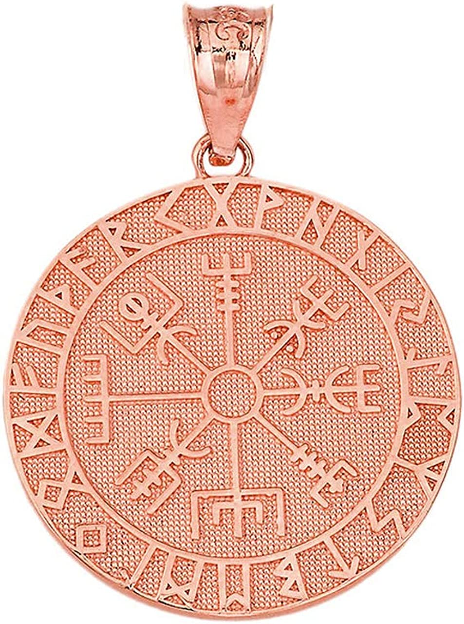 Arthwick Store Viking Symbol Vegvisir Runic Compass Pendant Necklace