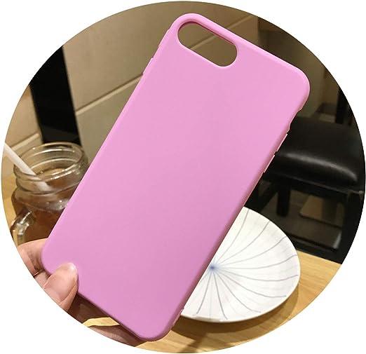 Coque en silicone souple pour iPhone 6/6S/6Plus - Couleur claire ...