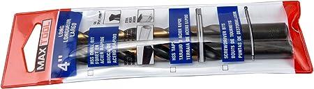 MAXTOOL Letter Q Dia 0.332 2pcs Jobber Length Twist Drill Bits HSS M2 Fully Ground; JBL02H10RQP2