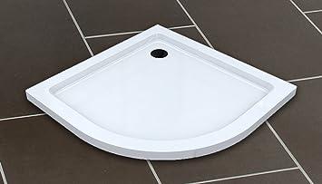 50 mm Plato de ducha cuarto de círculo 90x90 / Plato de ducha para la ducha ducha mampara de ducha: Amazon.es: Bricolaje y herramientas