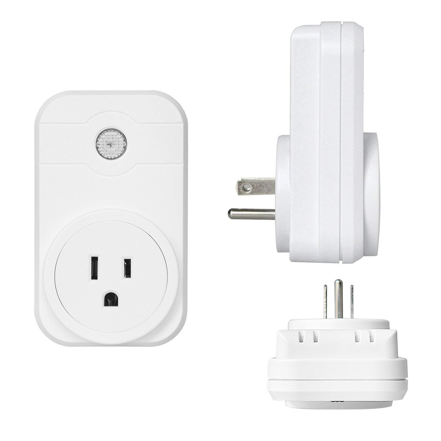Annstory Smart Plug Compatible with Alexa Google Home IFTT, WiFi Socket Outlet with App Control your Devices from Anywhere wifi plugs (2 Pack)