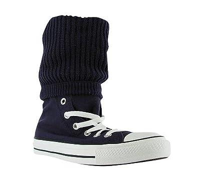 014a4794269b Converse Women s All Star Hi Roll Purple Grape Down Gothic Fashion Shoes (6  Men