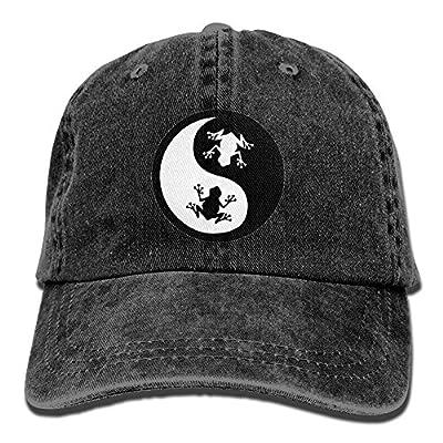 KIOJIANM Yin Yang Frog Baseball Caps Cutek Hats