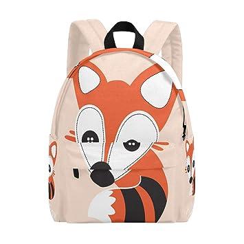 22a12030c69 Amazon.com   Backpacks Cute Fox Travel Shoulders School Bag for Women Men  Boy Girl   Kids  Backpacks