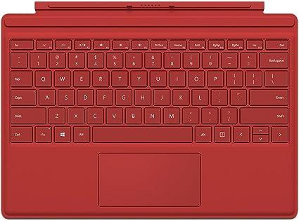 Microsoft QC7-00005 Cover Port Rojo Teclado para móvil ...