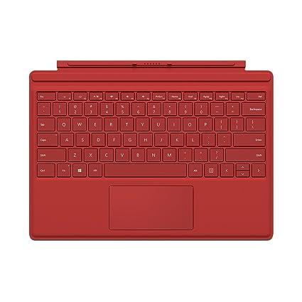 Microsoft QC7-00005 Cover port Rojo teclado para móvil - Teclados para móviles (Rojo